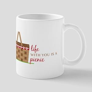 Life Is Picnic Mugs