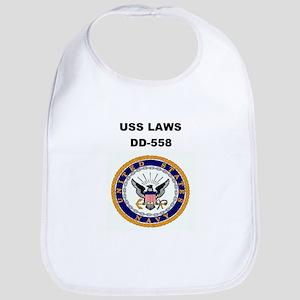 USS LAWS Bib