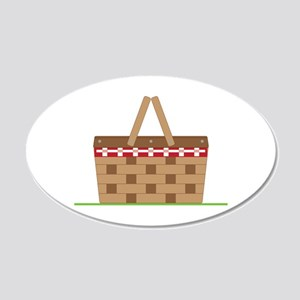 Picnic Basket Wall Decal