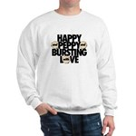 HAPPY AND PEPPY - 2 -sided Sweatshirt