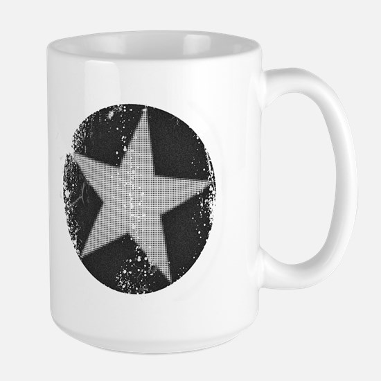 circle n star faded Mugs