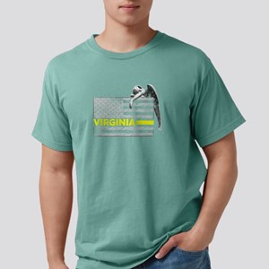 Virginia Police Dispatcher Flag Gifts Shir T-Shirt