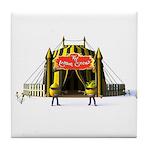 The Lemon Circus Tile Coaster