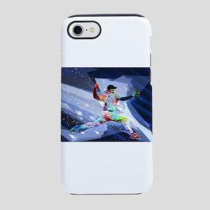 Crayon Colored Baseball Pitc iPhone 8/7 Tough Case