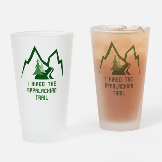 Hike the Appalachian Trail Drinking Glass