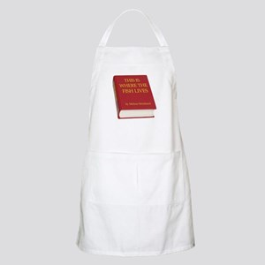 Fish Book BBQ Apron
