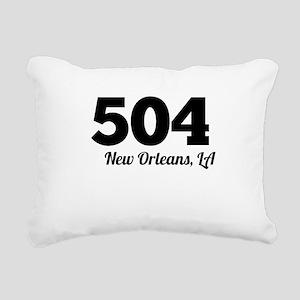 Area Code 504 New Orleans LA Rectangular Canvas Pi