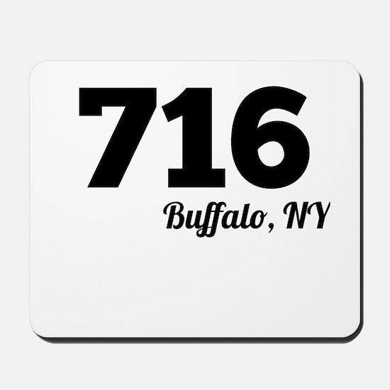Area Code 716 Buffalo NY Mousepad