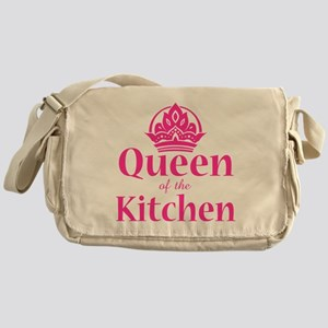 Queen Of Kitchen Messenger Bag