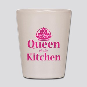 Queen Of Kitchen Shot Glass