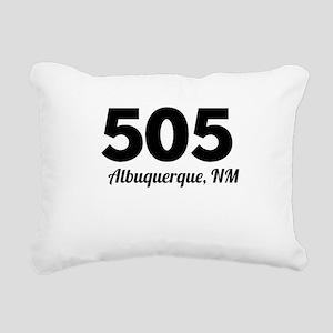 Area Code 505 Albuquerque NM Rectangular Canvas Pi