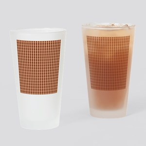 Female Nipple Abstract Drinking Glass