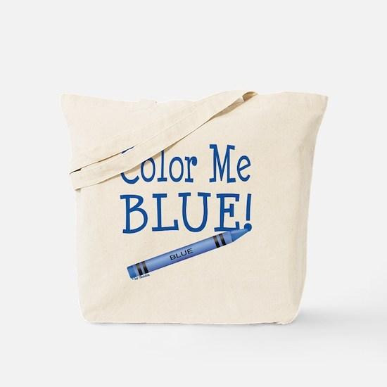 Color Me Blue! Tote Bag