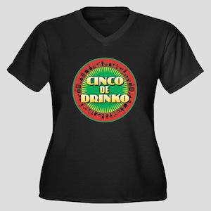 Cinco de Drinko Plus Size T-Shirt