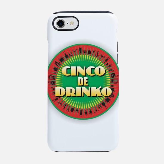Cinco de Drinko iPhone 8/7 Tough Case