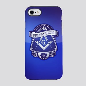 Masonic Freemason Blue Crest Iphone 8/7 Tough Case
