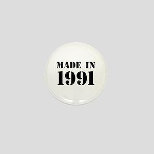 Made in 1991 Mini Button