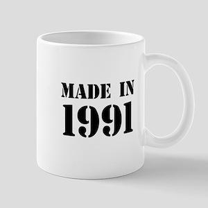 Made in 1991 Mugs