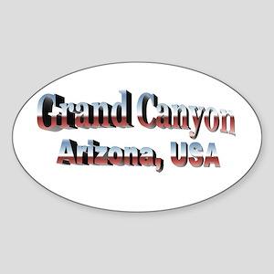 Grand Canyon, Arizona Sticker (Oval)