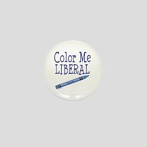 Color Me Liberal! Mini Button