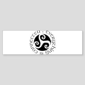 connected Bumper Sticker