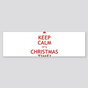 keepcalmxmas Bumper Sticker