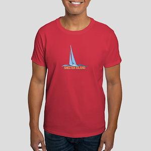 The Hamptons - Long Island. Dark T-Shirt