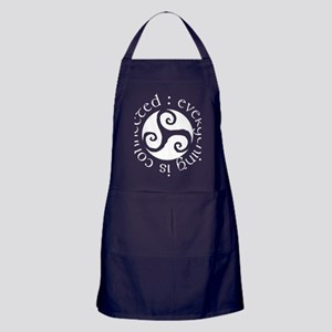 connectedwhi Apron (dark)