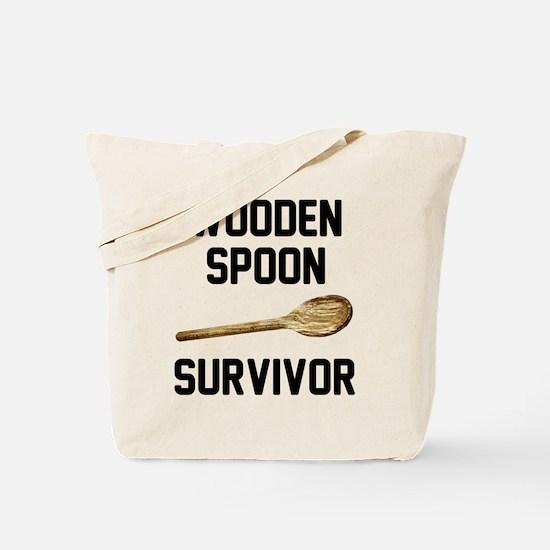Wooden Spoon Survivor Tote Bag