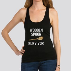 Wooden Spoon Survivor Racerback Tank Top