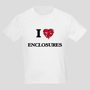 I love ENCLOSURES T-Shirt