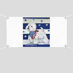 America Westie Banner
