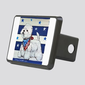 America Westie Hitch Cover