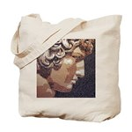 Antinous & Hadrian Mosaic Tote Bag