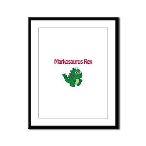Markosaurus Rex Framed Panel Print