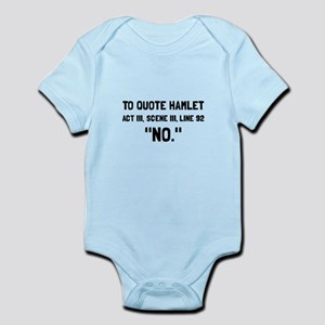 Hamlet Quote Body Suit