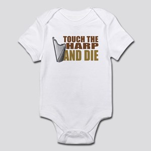 Touch/Die Harp Infant Bodysuit