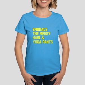 Embrace the messy hair Women's Dark T-Shirt