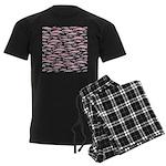 Pink Dolphin Pattern Pajamas