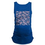 Pink Dolphin Pattern Maternity Tank Top