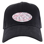 Pink Dolphin Pattern Baseball Hat