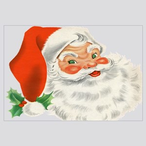 vintage santa - Vintage Christmas Wall Decor