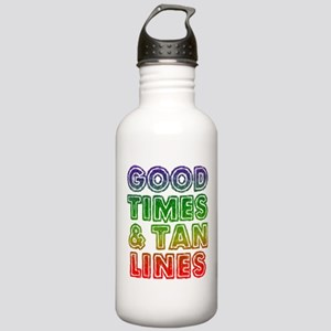Good Times Tan Lines Stainless Water Bottle 1.0L