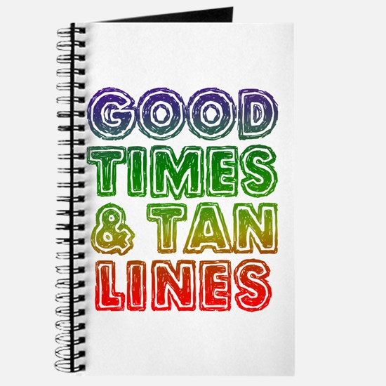 Good Times Tan Lines Journal