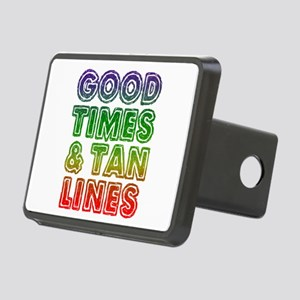 Good Times Tan Lines Rectangular Hitch Cover