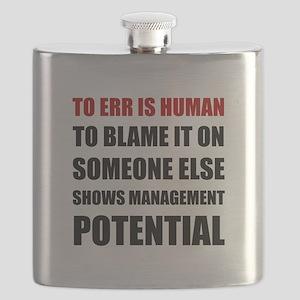 Management Potential Flask