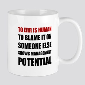 Management Potential Mugs