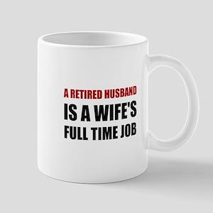 Retired Husband Mugs