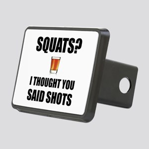 Squats Shots Hitch Cover
