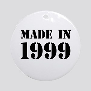 Made in 1999 Ornament (Round)